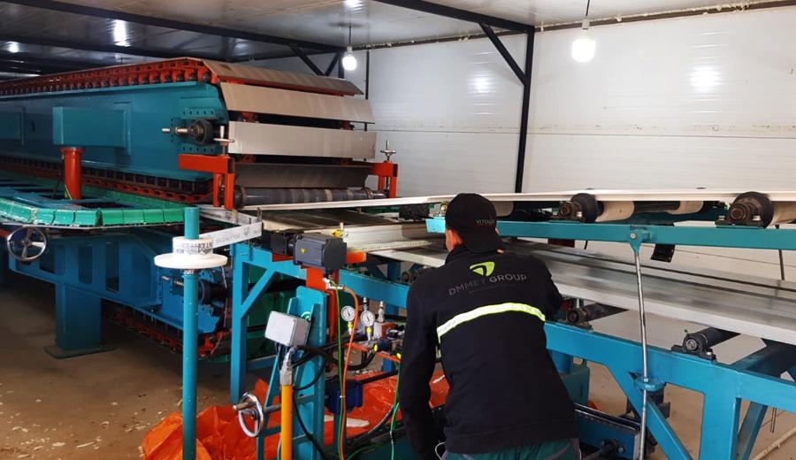 Dmmet Engineering - Sandwich Panel Production Line
